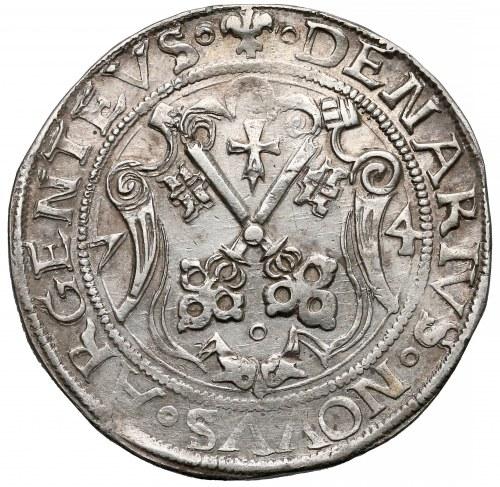Wolne Miasto Ryga, Talar ryski 1574 - rzadki i B. ŁADNY