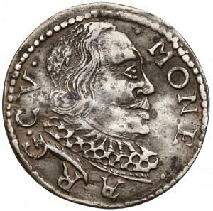 Kurlandia, Wilhelm Kettler, Trojak Mitawa 1598 - CV