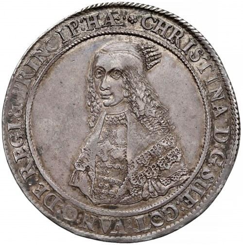 Krystyna, Talar Ryga 1643 HW - PIĘKNY i rzadki