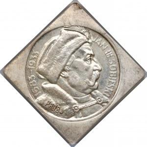 Próba KLIPA 10 złotych 1933 Sobieski - NGC MS61