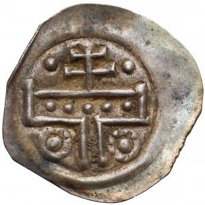 Węgry, Bela III (1172–96) lub Bela IV (1235-70), Brakteat (XII-XIIIw)
