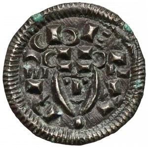Węgry, Bala II (1131-41), Denar - głowa na wprost