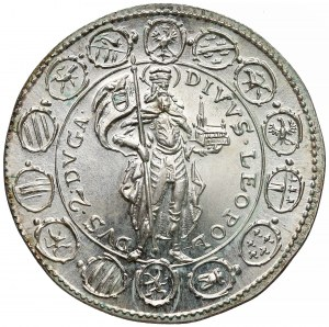 Austria, Dwudukat nowego bicia 1642 (1963)