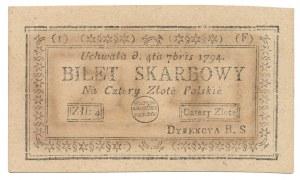4 złote 1794 - (I)(F)