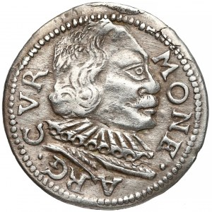 Kurlandia, Wilhelm Kettler, Trojak Mitawa 1598 - CVR
