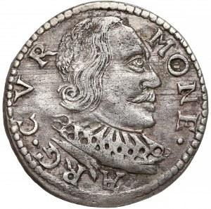 Kurlandia, Wilhelm Kettler, Trojak Mitawa 1598 - błąd ES - rzadki
