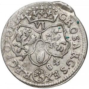 Jan III Sobieski, Szóstak Bydgoszcz 1684 TLB - CIEKAWY BŁĄD BICIA