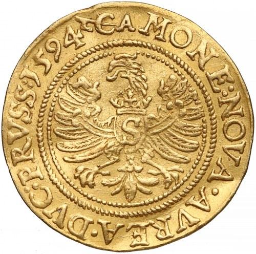 Prusy, Jerzy Fryderyk, Dukat Królewiec 1594 - bardzo rzadki