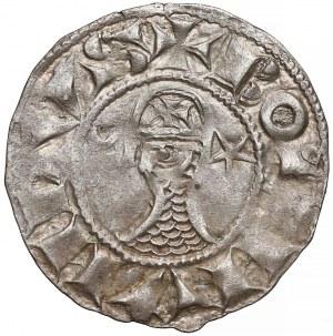 Krzyżowcy, Antiochia, Bohemund III, Denar