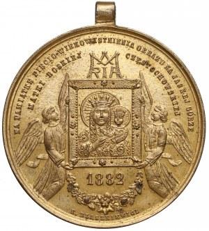 Medal 500. rocznica Obrazu na Jasnej Górze 1882