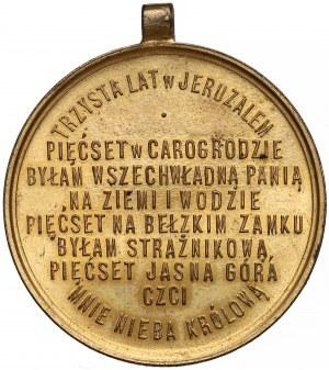 Medal, 500-rocz Obrazu na Jasnej Górze 1882
