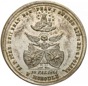 Medal, Unia w Horodle, 1861