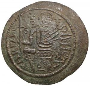 "Węgry, Bela III (1172–96), AE-26 - ""miseczka"""