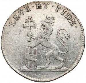 Franciszek II, Praga, Żeton koronacyjny 1792