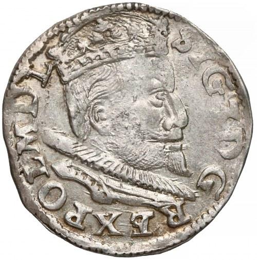 Zygmunt III Waza, Trojak Lublin 1595 - duża głowa