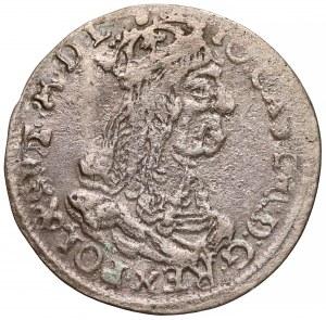 Jan II Kazimierz, Trojak Kraków 1662 AT