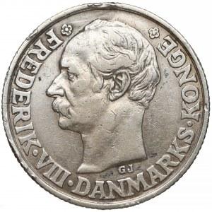 Dania, Duńskie Indie Zachodnie, 2 franki 1907 / 40 centów - RZADKIE
