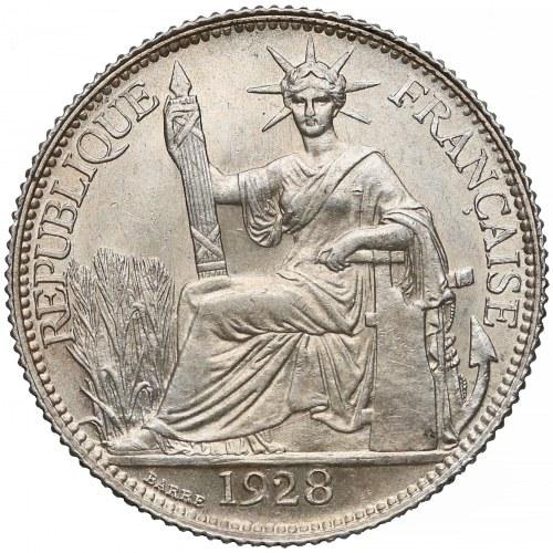 Indochiny francuskie, 20 centimes 1928-A