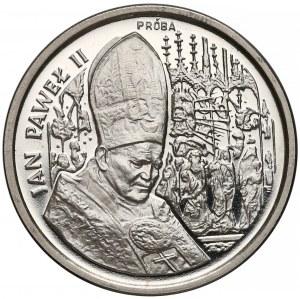 Próba NIKIEL 50.000 złotych 1991 Jan Paweł II- ołtarz