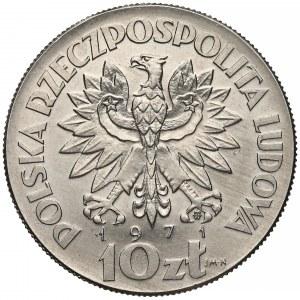 Próba NIKIEL 10 złotych 1971 FAO Dziecko
