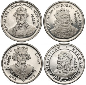 Próba NIKIEL 2.000 złotych 1980-81 Królowie