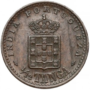 Indie Portugalskie, Carlos I, 1/12 tanga 1903