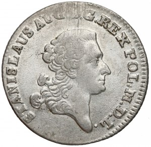 Poniatowski, Złotówka 1766 FS - większe orły