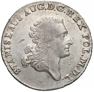 Poniatowski, Złotówka 1767 FS - małe orły