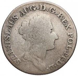 Poniatowski, Złotówka 1786 E.B.