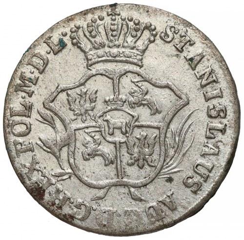 Poniatowski, Półzłotek 1786 E.B