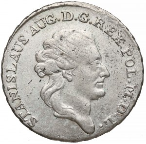 Poniatowski, Dwuzłotówka 1784 E.B.
