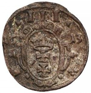 Zygmunt III Waza, Trzeciak Gdańsk 1613 - tarcza owalna