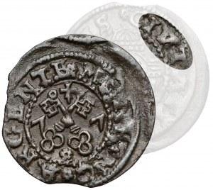 Wolne Miasto Ryga, Szeląg ryski 1577 - błąd CIV_TATI