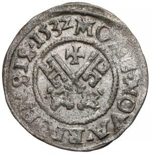 Zakon Kawalerów Mieczowych, Szeląg Ryga 1532