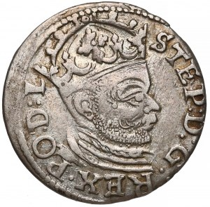 Stefan Batory, Trojak Ryga 1583 - mały naramiennik