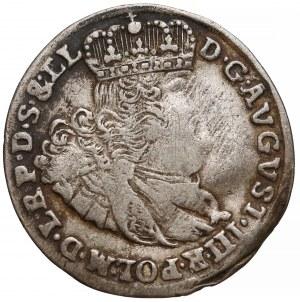 August III Sas, Szóstak Gdańsk 1763 REOE - data w linii