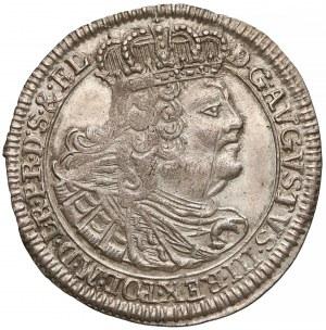August III Sas, Szóstak Gdańsk 1760 REOE - b. ładny