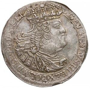 August III Sas, Szóstak Gdańsk 1760 REOE - data szeroko