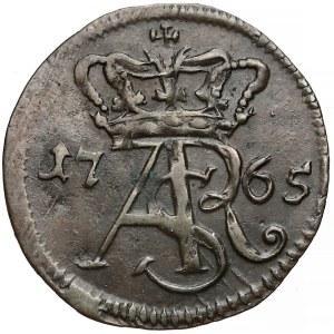 Poniatowski, Szeląg Toruń 1765 - bardzo rzadki