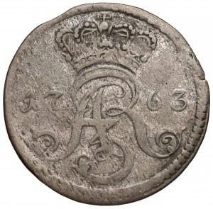 August III Sas, Trojak Toruń 1763 DB