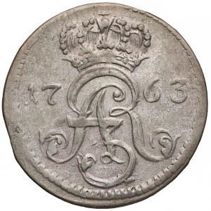 August III Sas, Trojak Toruń 1763 DB - ładny
