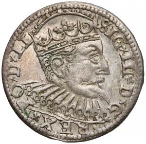 Zygmunt III Waza, Trojak Ryga 1600 - bardzo ładny
