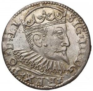 Zygmunt III Waza, Trojak Ryga 1599 - ciekawy