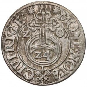 Zygmunt III Waza, Półtorak Ryga 1620 - klucze (R3)