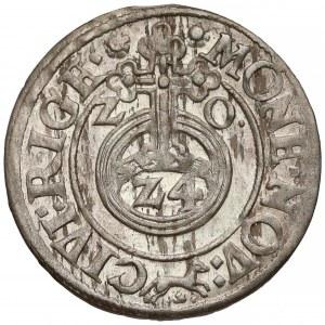 Zygmunt III Waza, Półtorak Ryga 1620 - lis - b. ładny