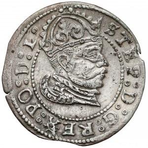 Stefan Batory, Grosz Ryga 1582 - Lᵒ