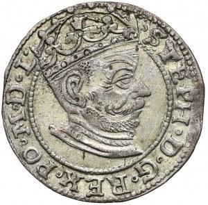 Stefan Batory, Grosz Ryga 1581 - data skrócona - b. ładny