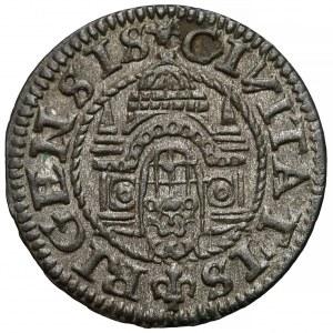Wolne Miasto Ryga, Szeląg ryski 1575 - ładny
