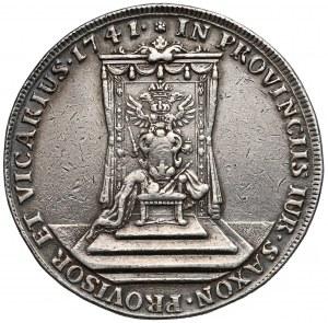 August III Sas, Talar wikariacki Drezno 1741