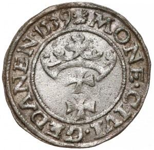 Zygmunt I Stary, Szeląg Gdańsk 1539 - rozeta